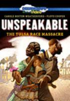 Unspeakable: The Tulsa Race Massacre (DVD)