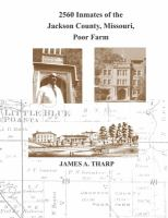 2560 Inmates of the Jackson County, Missouri, Poor Farm
