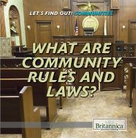 What Are Community Rules and Laws?