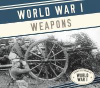 World War I Weapons