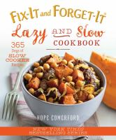 Lazy and Slow Cookbook