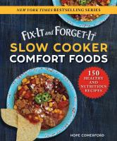 Fix-it and Forget-it® Slow Cooker Comfort Foods