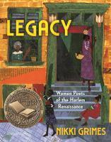 Legacy : women poets of the Harlem Renaissance