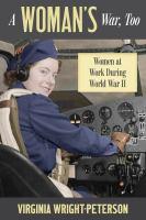 A Woman's War, Too