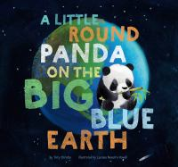 A Little Round Panda On The Big Blue Earth