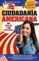 Inglés para la ciudadanía americana