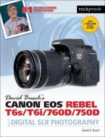 Canon EOS Rebel T6s/T6i/760D/750D