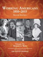 Working Americans, 1810-2015
