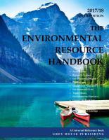 Environmental Resource Handbook 2017/18