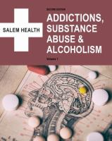 Addictions, Substance Abuse & Alcoholism