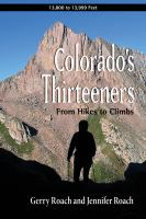 Colorado's Thirteeners, 13,800 to 13,999 Feet