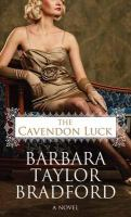 Media Cover for Cavendon Luck [large print].