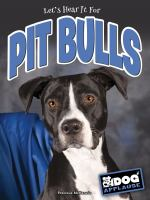 Let's Hear It for Pit Bulls