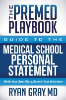 The Premed Playbook