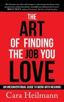 The Art of Finding the Job You Love