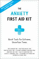 Cover of The Anxiety First Aid Kit
