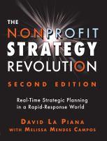 The Nonprofit Strategy Revolution