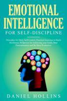 Emotional Intelligence for Self-discipline