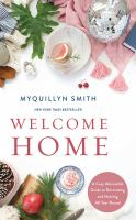 Media Cover for Welcome Home: A Cozy Minimalist Guide to Decorating and Hosting...
