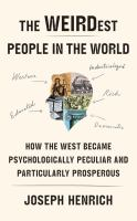THE WEIRDEST PEOPLE IN THE WORLD (CD)