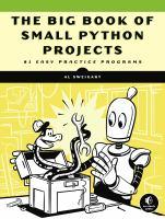 Big Book of Small Python Programming