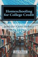 Homeschooling for College Credit