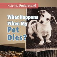 What happens when my pet dies?
