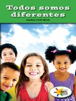 Todos somos diferentes (we are all different)