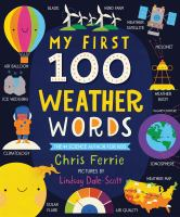 My First 100 Weather Words