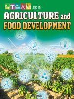 STEAM Jobs in Agriculture and Food Development