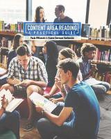 Content Area Reading