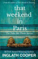That Weekend In Paris