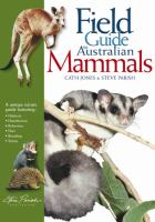 A Field Guide to Australian Mammals