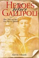Heroes Before Gallipoli