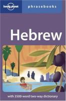 Hebrew Phrasebooks