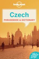 Czech Phrasebook and Dictionary