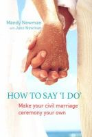 How to Say 'I Do'