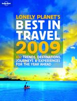 Lonely Planet's Best in Travel 2009