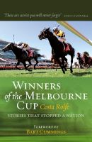 Winners of the Melbourne Cup