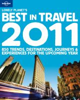 Lonely Planet's Best in Travel 2011