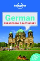 German Phrasebook & Dictionary