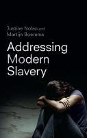 Addressing Modern Slavery
