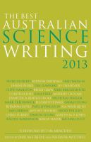 The Best Australian Science Writing 2013