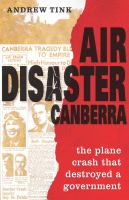 Air Disaster Canberra