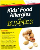 Kids' Food Allergies for Dummies
