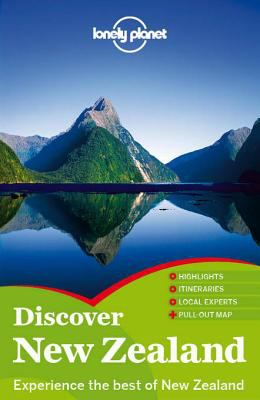 Lonely Planet Discover New Zealand cover