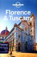 Florence & Tuscany (Lonely Planet Country & Regional Guides)