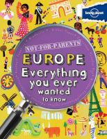 Europe, Everything You Ever Wanted to Know