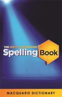 The Great Australian Spelling Book