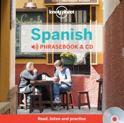 Cover image for Spanish phrasebook & CD